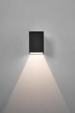 Væglampe Astro 7109 Oslo 100 LED 1x3W, udendørs, sort, IP65