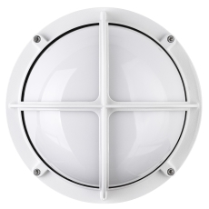 Alfa Skotlampe med kryds 1x18W G24d-2 hvid
