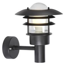 Lønstrup 22 Væglampe E27 max 60W sort