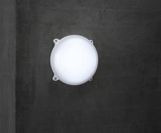 Moon Væglampe LED 20W Ø220 mm hvid IP65