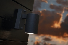 Væglampe Tin enkelt, GU10, sort