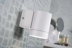 Væglampe Tin Maxi enkelt GU10 hvid