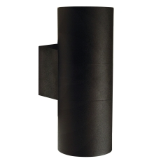 Væglampe Tin Maxi dobbelt GU10 sort