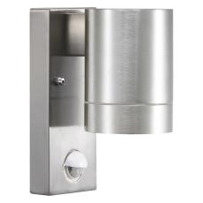 Væglampe Tin Maxi enkelt GU10 med sensor alu