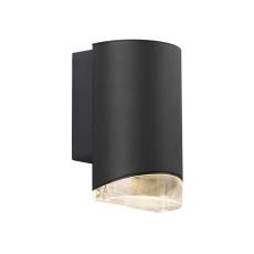 Væglampe Arn enkelt GU10 sort