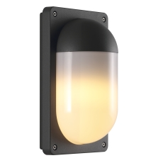 Væglampe Kenton E27 max. 10W sort aluminium