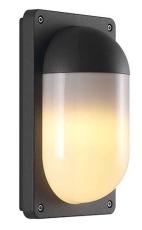Væglampe Kenton E27 max. 10W antracit aluminium