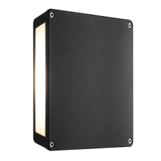 Væglampe Tamar Wall LED 4 x 3W sort aluminium