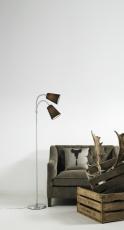 Lelio gulvlampe E14 sort