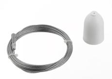 Global 3F Wiresæt SPW 1-3 3 meter hvid