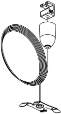 Global XTS Wiresæt SPW 11SK-3 3 meter hvid