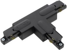 Global 1F T-Stykke GB40-2 højre sort (indvendigt)