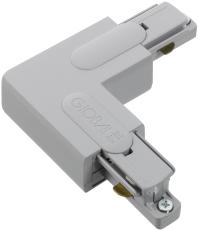Global 1F Vinkel GB35-1 venstre grå (alu) (indvendigt)