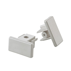 Square 1F 230V Endestykke grå (alu)