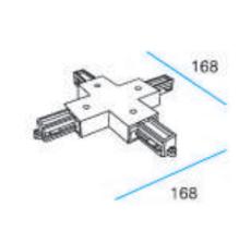 Square 1F 230V X-Stykke hvid