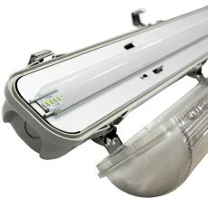 Fulton LED Panel prismatisk 40W 840, 4950 lumen, 595x595 mm