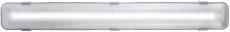 Polyesterarmatur Works LED 1x9W 800 lumen, grå, L660 mm, IP6