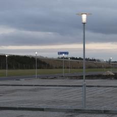Parkarmatur Thor-Maxi-Led 27W 840, 3000 lumen, galvaniseret,
