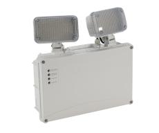 Panikarmatur Kansas LED 2x3W 450 lumen m/fjernbetjening