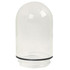 Staldglas Udendørs Klar, gevind 84,5 mm, højde 160 mm