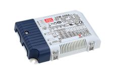 LED Driver LCM-40DA, 2-100V 40W, 350-1050 mA, dali og push
