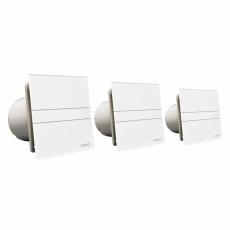 Ventilator E-100 GST Timer Sølv