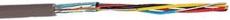 CTS Kabel PTS 4x2x0,6 brun, UV bestandig T500