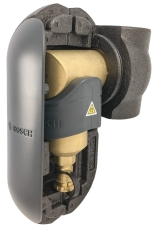 "Bosch snavs- og magnetitfilter, 1 1/2"", inkl. Isolering"