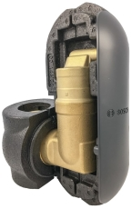 "Bosch mikroboble udlufter, 1 1/2"", inkl. Isolering"