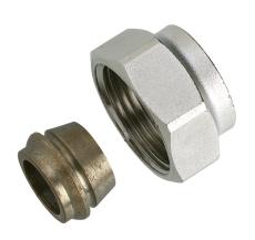 Klemring, G3/4A,Ø12, stål+kobberrør