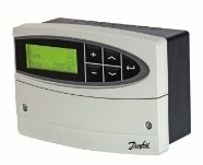 ECL comfort 110,  24 VAC, med ur