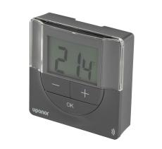 Uponor Smatrix Wave PLUS digital termostat grå T-167