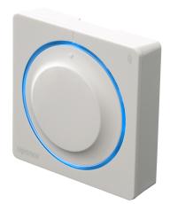 Uponor smatrix termostat med drejeskive trådløs t-165