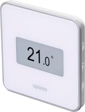 Uponor Smatrix Wave digital STYLE termostat med RH hvid T-16