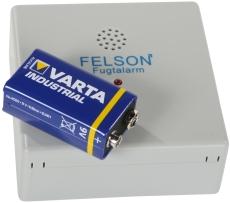 Fugtmelder/fugtalarm med 9V batteri