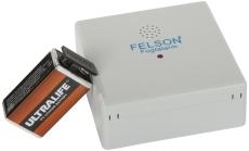 Fugtmelder/fugtalarm med 9V litium batteri