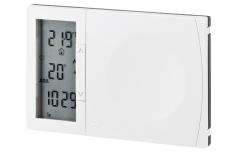 Danfoss TP7001 kloktermostat med indbygget føler. Netforsyne