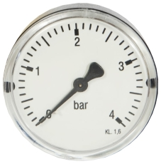 "1/4"" x 63 mm Manometer bagud 4 bar"
