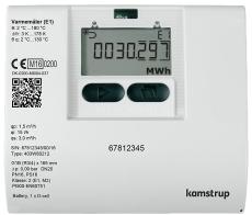 """Varmemåler MULTICAL® 403 0,6M³/H /110mm / 3/4"""" med batteri f"""