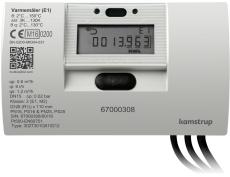 Varmemåler MULTICAL® 302 1,5M³/H med batteri for returmontag