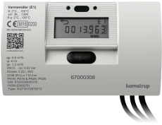 Varmemåler MULTICAL® 302 2,5M³/H med batteri for returmontag