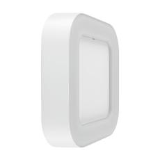 Væg-/loftarmatur Facade Surface Square 13W 830, hvid, IP54
