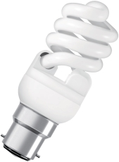 Lavenergilampe Dulux Twist 15W 827, 900 lumen B22D (A)