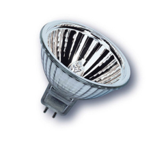 Halogen Decostar 51 Alu 50W 1800 lumen GU5,3 36° u/frontglas