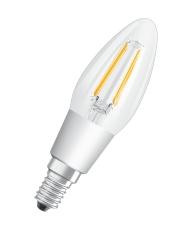 LED Retrofit filament kerte 4,5W 827, 470 lm, E14 klar dim,