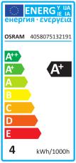 Parathom LED PAR16 3,3W 827, 230 lumen, GU10 36° (A+)