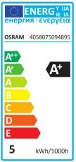 Parathom LED MR16 Dim 5W 840, 350 lumen, GU5,3, 36°, dæmp (A