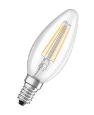 Parathom Retro Kerte 4W 840, 470 lumen, E14, filament, klar