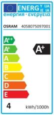 Parathom LED R63 3,3W 827, 210 lumen E27 36° (A)