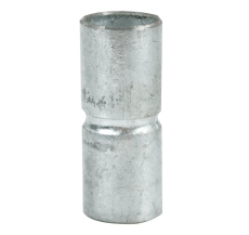 "Muffe 16 mm (5/8"") kort galvaniseret"